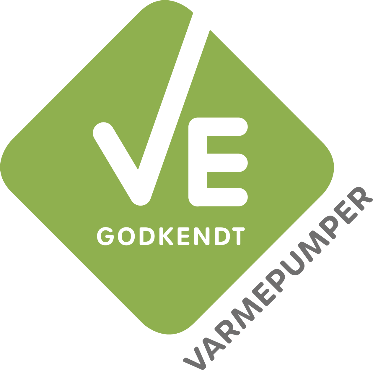 ve logo varmepumper medium